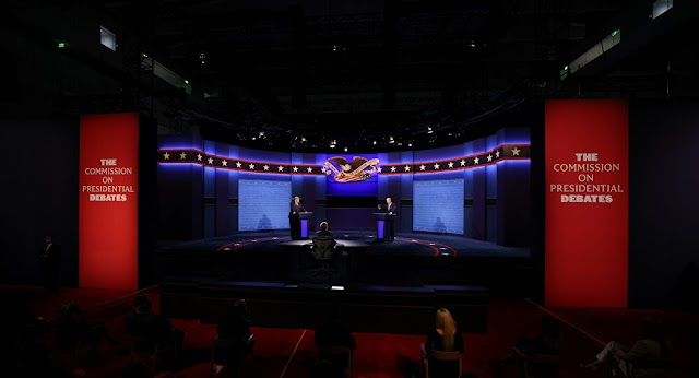 Politics: Over 73Mln Watch US Presidential Debate, Down 13% From 2016 -report by Nielsen Research