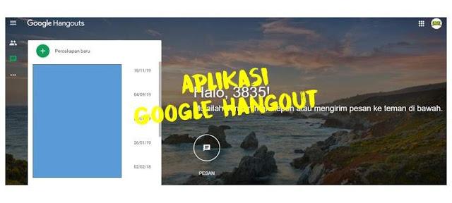 Aplikasi Google Hangout