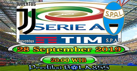 Prediksi Bola855 Juventus vs Spal 28 September 2019
