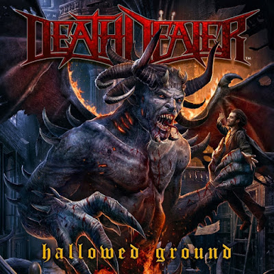 Death Dealer - Hallowed Ground - cover album - 2015