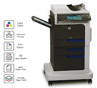Télécharger Hp Color LaserJet Enterprise CM4540F Pilote