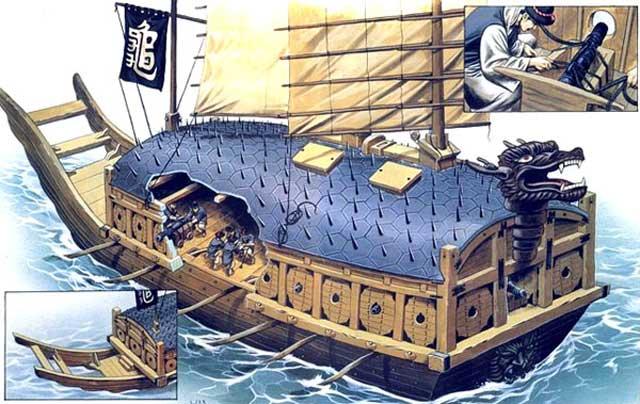 Menabrakkan Kapal ke Kapal Lain