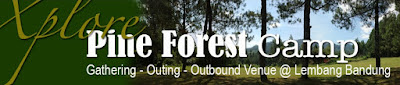 Tarif Wisata Kemping Pine Forest Camp Bandung