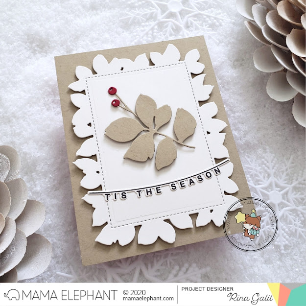 mama elephant | design blog: INTRODUCING: Holiday Word Banners + Big Oh So  Jolly + Foliage Frame