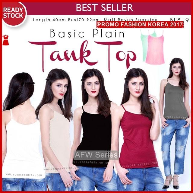 BAMFGW049 Basic Tank Top Wanita PROMO BMG
