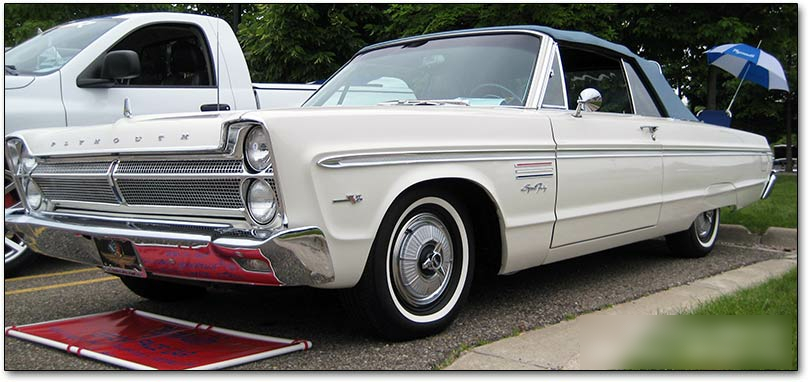 1964 Plymouth Sport Fury Wiring Diagram