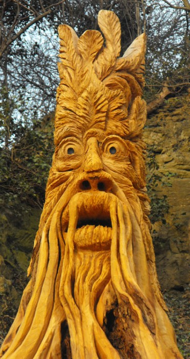 Скульптуры из дерева в Северном Йоркшире 2