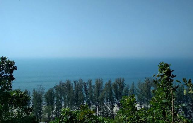 Himcori Island, sea beach of bangladesh