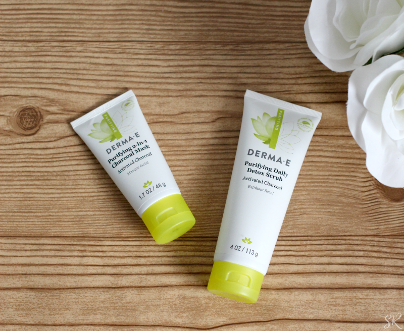 a picture of Derma E Charcoal products