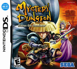 mysterious dungeon shiren the wanderer ds rom