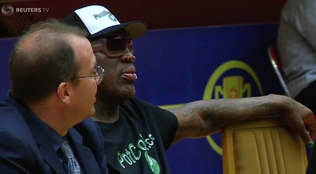 Former NBA star Rodman to head to Singapore for U.S.-North Korea summit