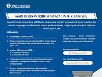 Seleksi Penerimaan Calon Pegawai Bank Indonesia