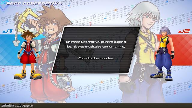 Kingdom Hearts Melody of Memory - Modo cooperativo