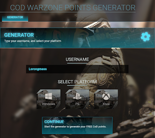 Cpwarzone com, Earn free CP on COD mobile from Cp warzone.com