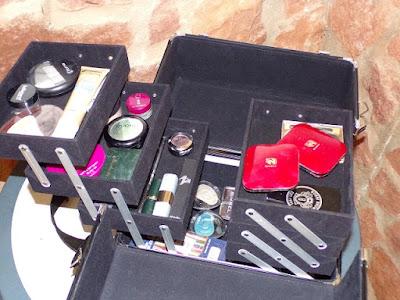 Organizador para el maquillaje