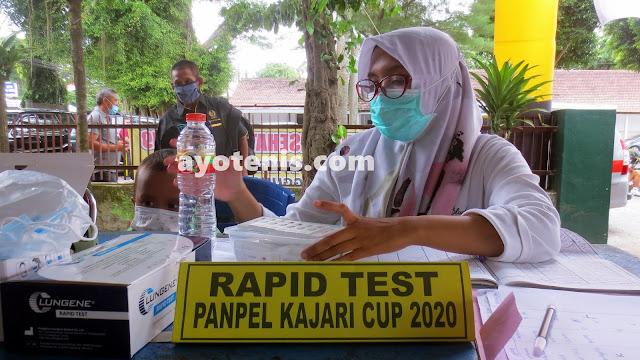 PELTI Jatim Apresiasi Penerapan Protokol Kesehatan di Turnamen Tenis Kajari Cup 2020