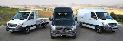Mercedes-Benz divulga nova campanha da Sprinter