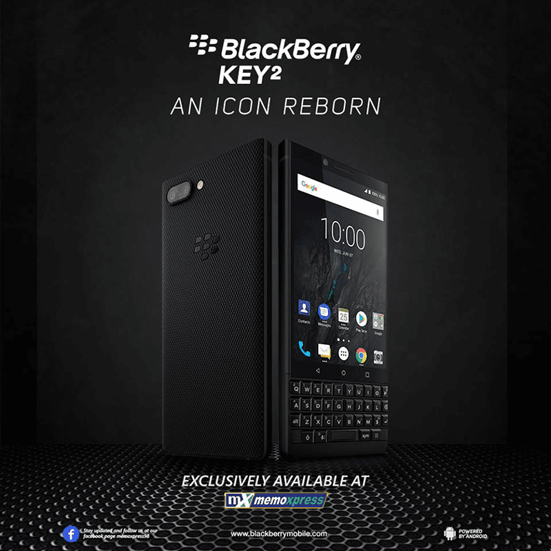 BlackBerry is back in PH, launches KEY2 with QWERTY backlit keyboard!