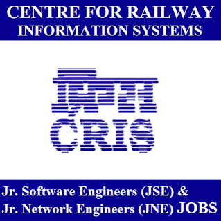 Centre for Railway Information Systems, CRIS, Software Engineer, Network Engineer, Graduation, freejobalert, Sarkari Naukri, Latest Jobs, cris logo