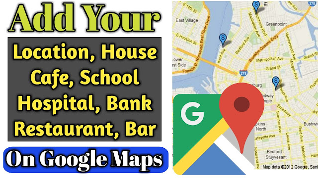How to add location in Google map for public