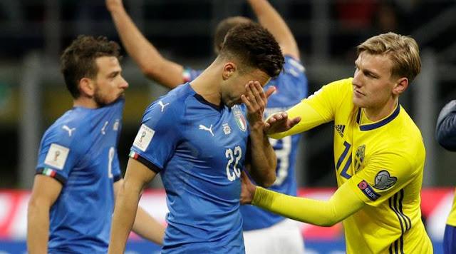 Italy team not in fifa 2018