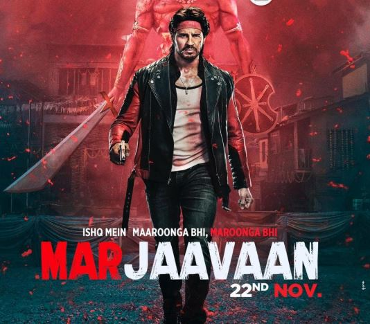 Marjaavaan First Look Poster out Starring Sidharth Malhotra and Riteish Deshmukh