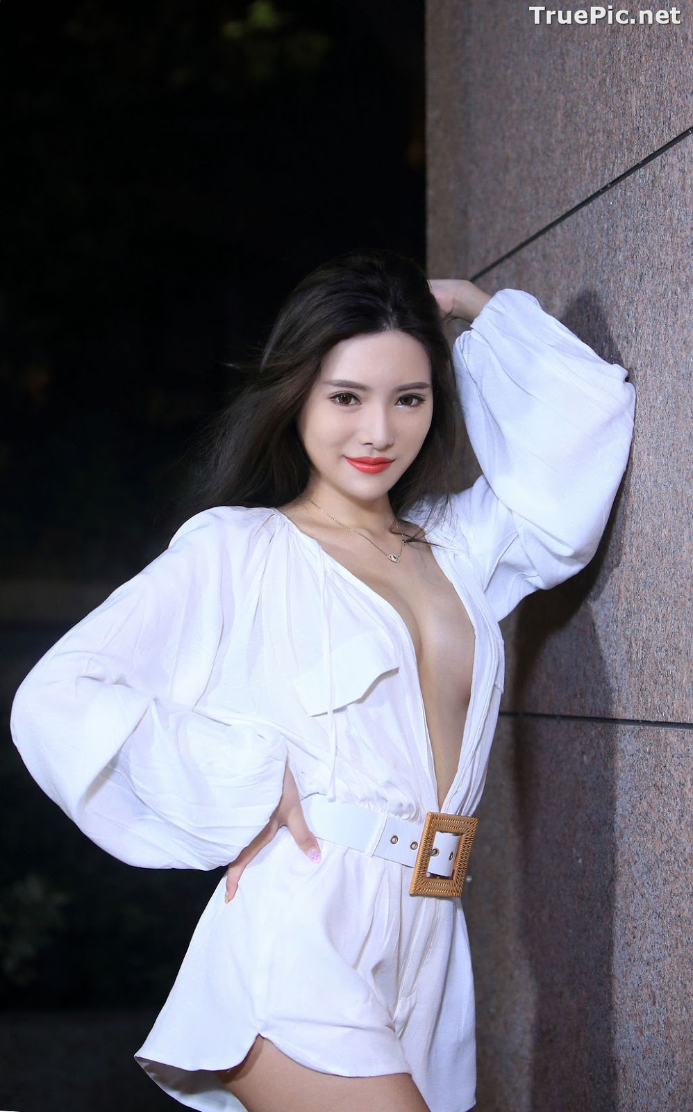 Image Taiwanese Model – 莊舒潔 (ViVi) – Sexy and Pure Baby In Night - TruePic.net - Picture-69