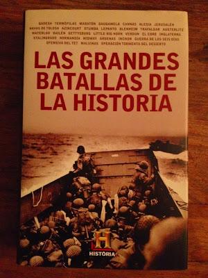 Colección de libros del Canal Historia - Canal Historia - History Channel - History Channel Iberia - Las grandes batallas de la Historia - El troblogdita - ÁlvaroGP - Historia