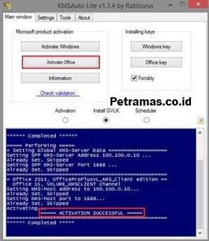 Cara Aktivasi Office 2016 Permanen Tanpa Software