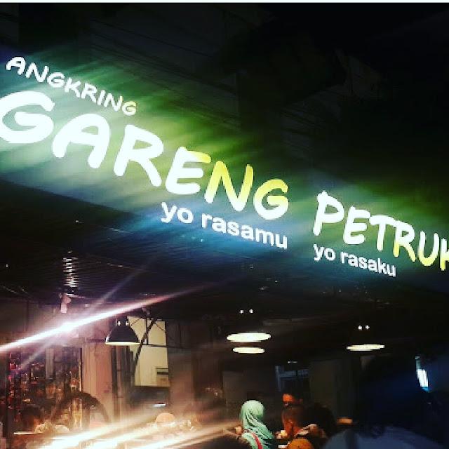 Angkringan Jogja, ya Angkringan Gareng Petruk