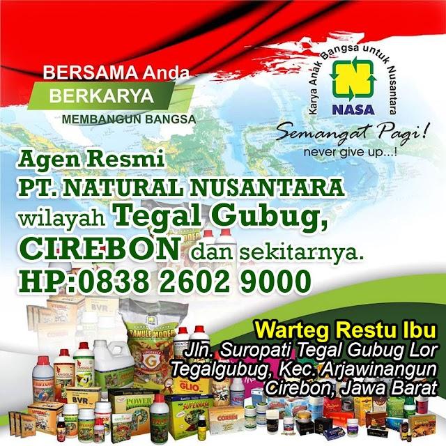 Agen Resmi Nasa Wilayah Tegal Gubug, Cirebon dan Sekitarnya.