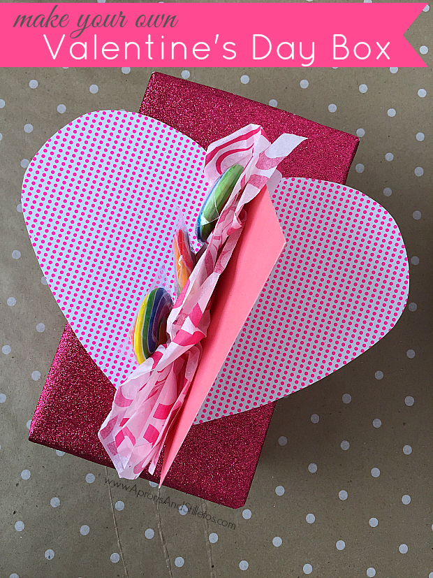 Valentine's Day Card & Candy Collection Box Tutorial