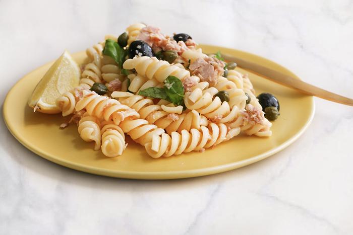 Pasta con Atún - Recetas de Verano