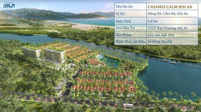 Mở Bán Biệt Thự Casamia Calm Hội An - Casamia Hoi An Villa 01