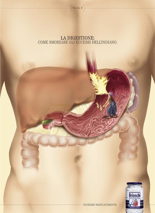 Реклама средства от изжоги и тяжести в желудке