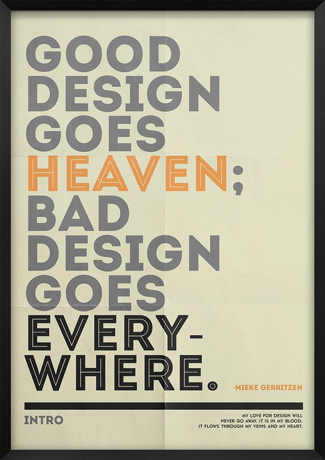 Inspirasi desain tipografi terbaik dan terbaru - Tribute to Fonts by MoePike Soe