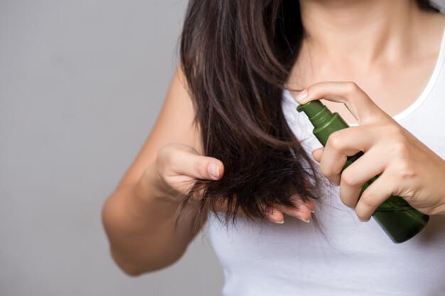 علاج الشعر التالف والمتقصف