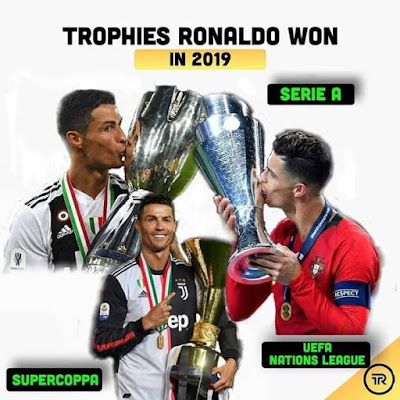 Trophies #Ronaldo Won In 2019...#CR7