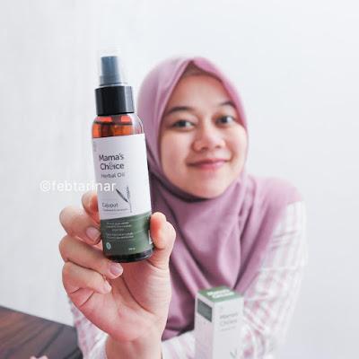 mamas choice herbal oil beauty blogger bandung