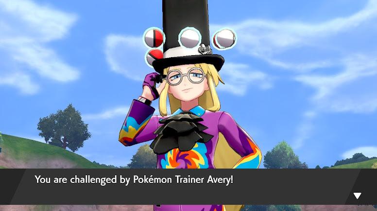 Avery Pokémon Sword e Shield