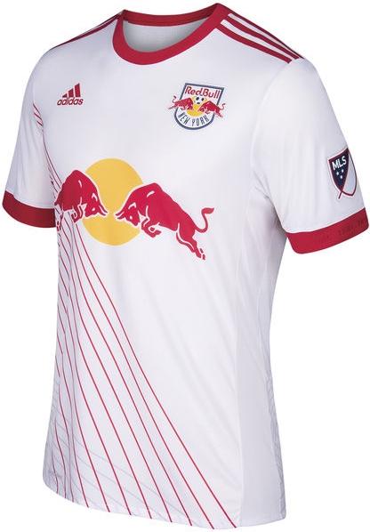 Adidas lança a nova camisa titular do New York Red Bulls para a MLS 2017 89d1d18584381