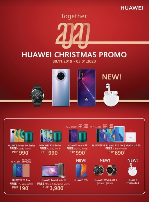 Huawei Outs Together 2020 Christmas Promo