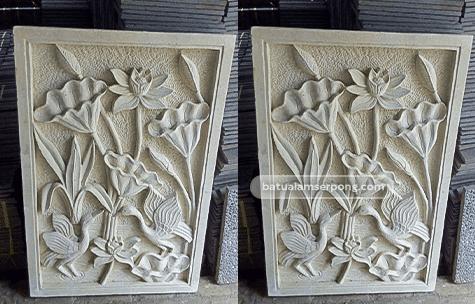 relief batu alam murah