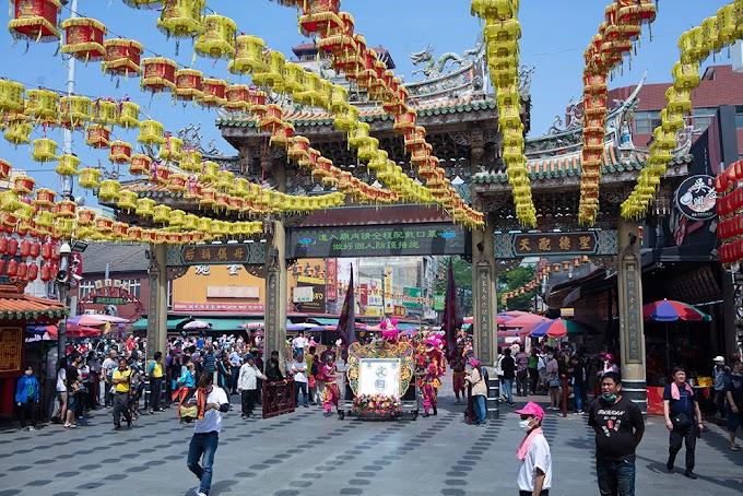 Merencanakan Perjalanan ke鹿港廟口商圈: Distrik Komersial Lukang  Kabupaten Changhua, Taiwan