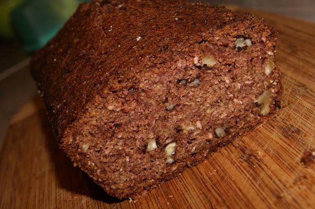 ciasto bez glutenu z cukinią