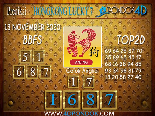 Prediksi Togel HONGKONG LUCKY 7 PONDOK4D 12 NOVEMBER 2020
