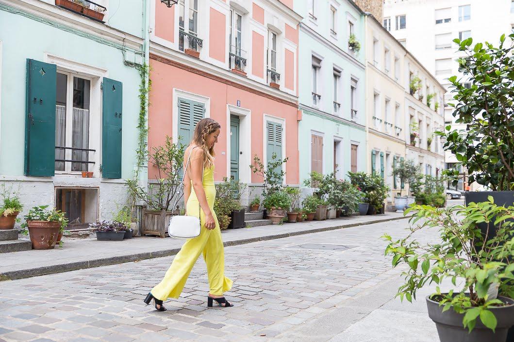 Combinaison pantalon jaune