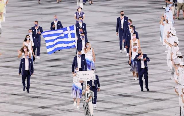 Η είσοδος της Ελλάδας στην τελετή Έναρξης και τα τελευταία νέα από το Τόκιο