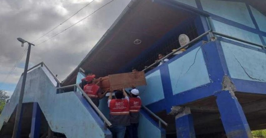 Clases siguen suspendidas solo en cinco colegios afectados en Loreto