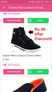 Shoes at Rs.90 Only